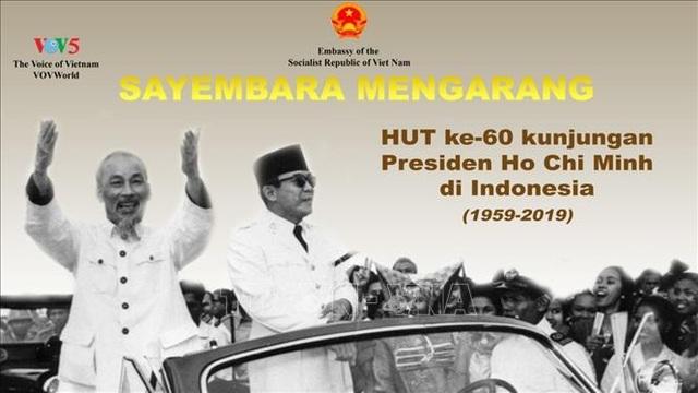 Phát động cuộc thi viết về Chủ tịch Hồ Chí Minh trong chuyến thăm lịch sử tại Indonesia - 1