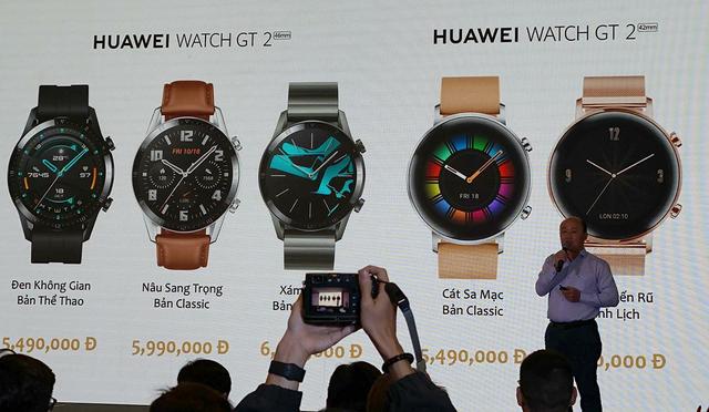 Huawei Watch GT 2 chính thức ra mắt, giá từ 5,5 triệu đồng - 1
