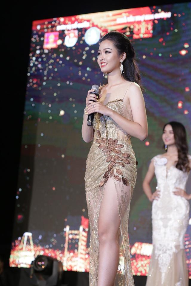 Nữ sinh năm thứ nhất đăng quang Hoa khôi ĐH Hà Nội 2019 - 6
