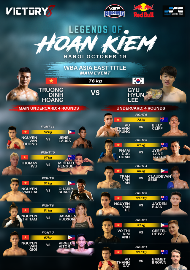 Trương Đình Hoàng và Cung Lê tạo cơn sốt võ thuật tại Hà Nội - 1