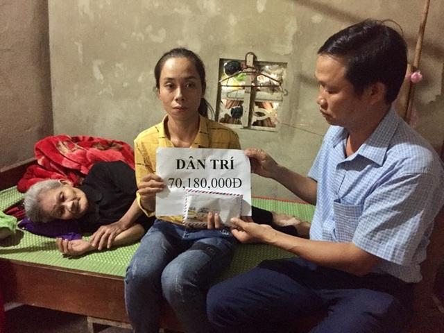 Người mẹ nằm liệt giường nhận niềm vui bất ngờ đúng ngày Phụ nữ Việt Nam - 1