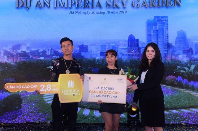 Đã tìm thấy chủ nhân của giải thưởng trị giá 2,8 tỷ đồng tại Imperia Sky Garden - 7