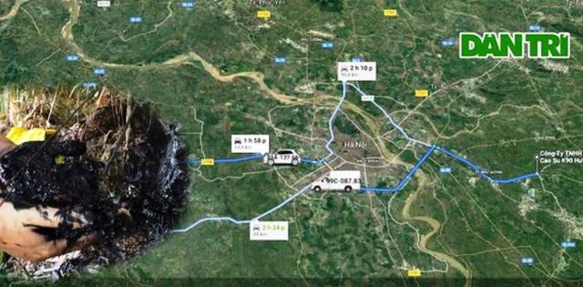 """Hành trình truy bắt những kẻ đổ dầu thải """"đầu độc"""" nguồn nước sông Đà - 3"""