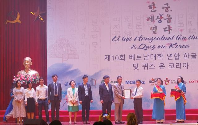 Tưng bừng ngày hội tiếng Hàn Hangeulnal tại Hà Nội - 7