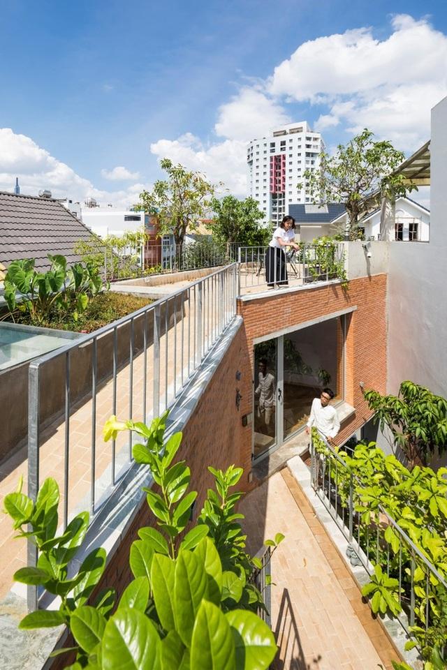 Nhà gạch nung rợp bóng cây xanh lọt đề cử kiến trúc đẹp nhất thế giới - 6