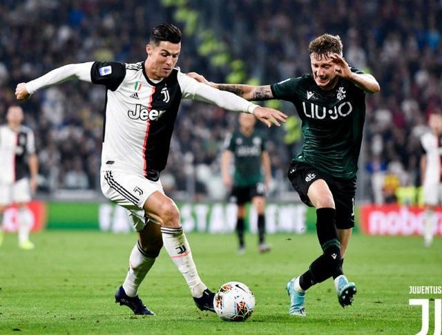 Ronaldo tiếp tục tỏa sáng, Juventus xây chắc ngôi đầu - 3