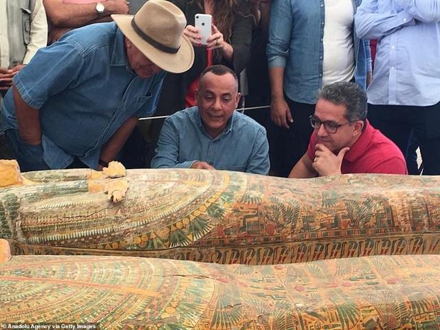 Ai Cập công bố 30 quan tài chứa xác ướp 3.000 năm tuổi - 6