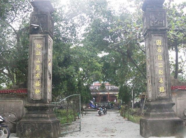 Hai pho tượng cổ quý ở Di tích quốc gia bị kẻ gian đánh cắp - 1