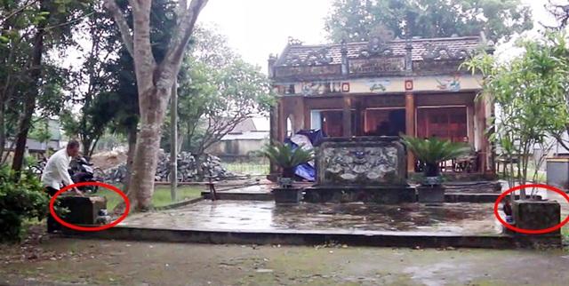 Hai pho tượng cổ quý ở Di tích quốc gia bị kẻ gian đánh cắp - 3