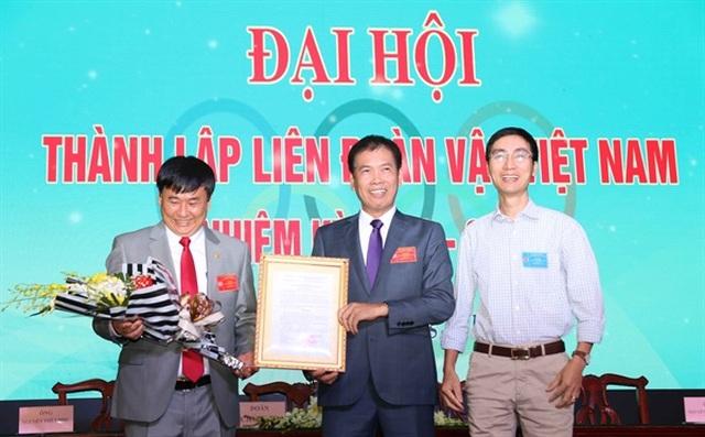 Ông Lý Duy Thanh được bầu làm Chủ tịch Liên đoàn vật Việt Nam - 1