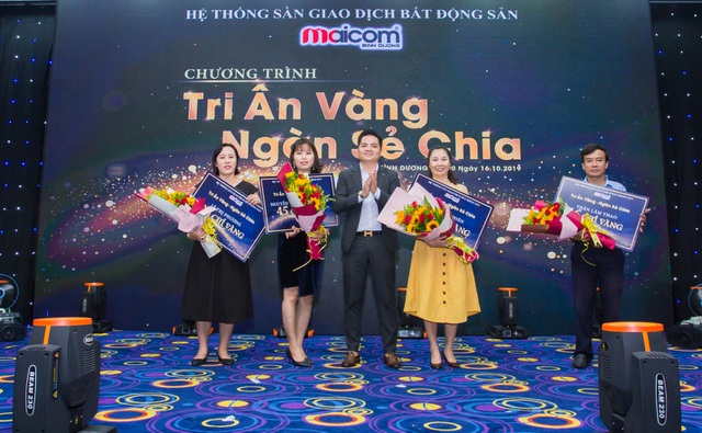 Gần 1000 chỉ vàng đã được Maicom Vietnam trao đến tay khách hàng - 1