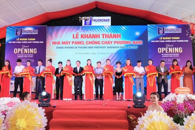 Phương Nam đưa vào hoạt động nhà máy panel chống cháy 10 triệu USD - 4