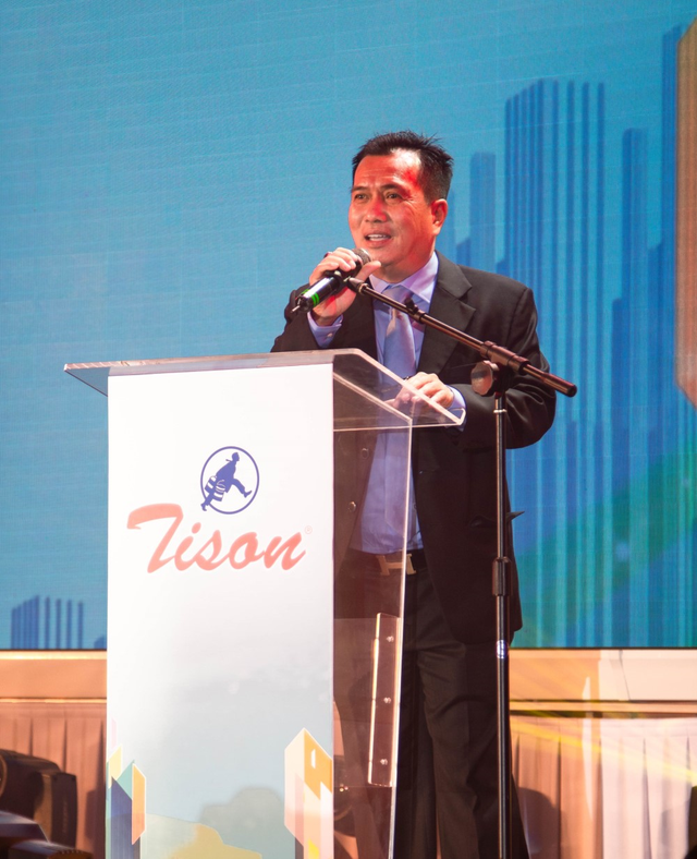 Sơn Tison ra mắt dòng sản phẩm hệ sơn nước cao cấp mới tên Unilic Gold - 1
