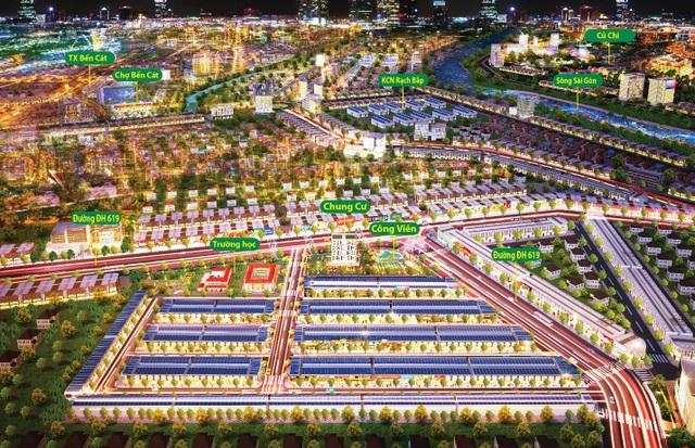 5 đơn vị bắt tay phân phối khu đô thị The Eden City - 2