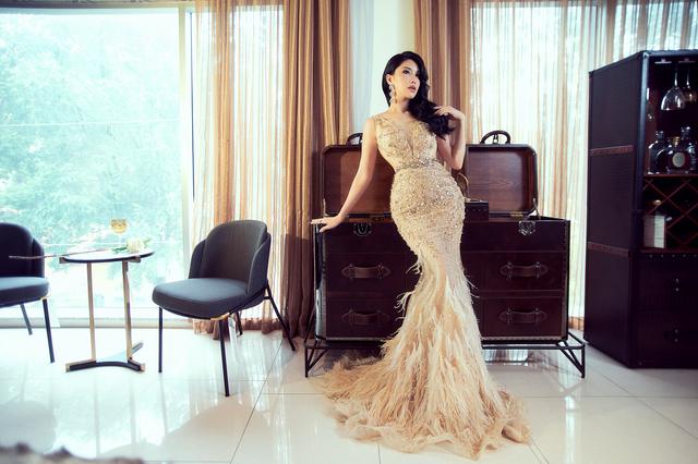 Hoa hậu Loan Vương trải nghiệm không gian sống sang chảnh với nội thất An Dương Home - 1