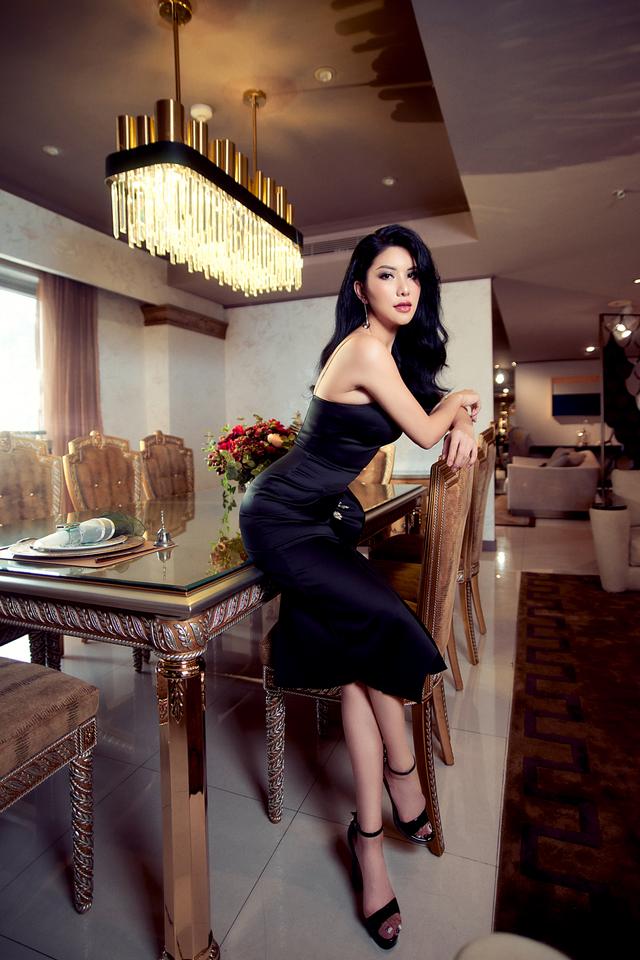 Hoa hậu Loan Vương trải nghiệm không gian sống sang chảnh với nội thất An Dương Home - 4