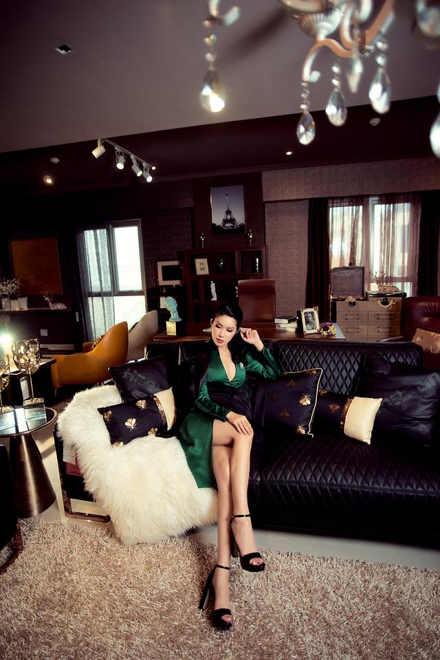Hoa hậu Loan Vương trải nghiệm không gian sống sang chảnh với nội thất An Dương Home - 7