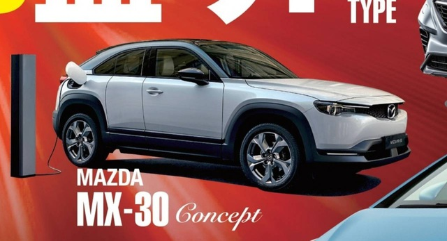 Hình ảnh đầu tiên của mẫu Mazda MX-30 chạy hoàn toàn bằng điện - 1