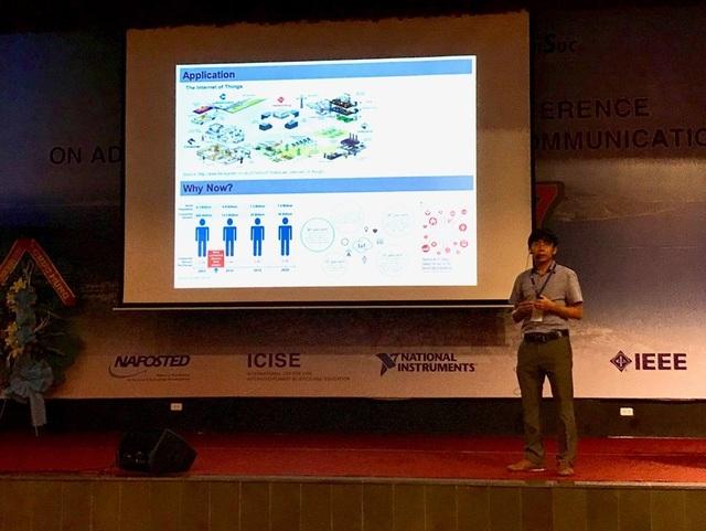 Giáo sư Việt đoạt giải công trình nghiên cứu xuất sắc nhất tại hội nghị viễn thông hàng đầu thế giới - 2