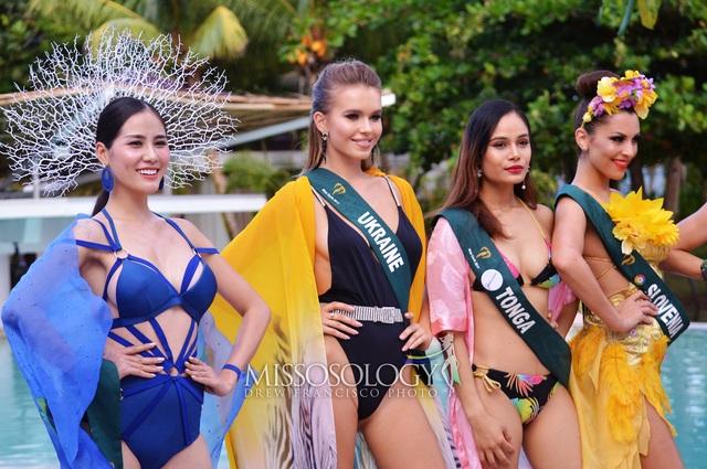 Hoàng Hạnh giành huy chương vàng đầu tiên tại Hoa hậu Trái đất 2019 - 4
