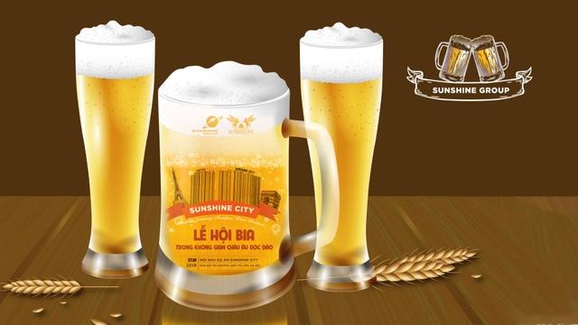 Tận hưởng lễ hội bia phong cách châu Âu ngay tại Sunshine City - 2