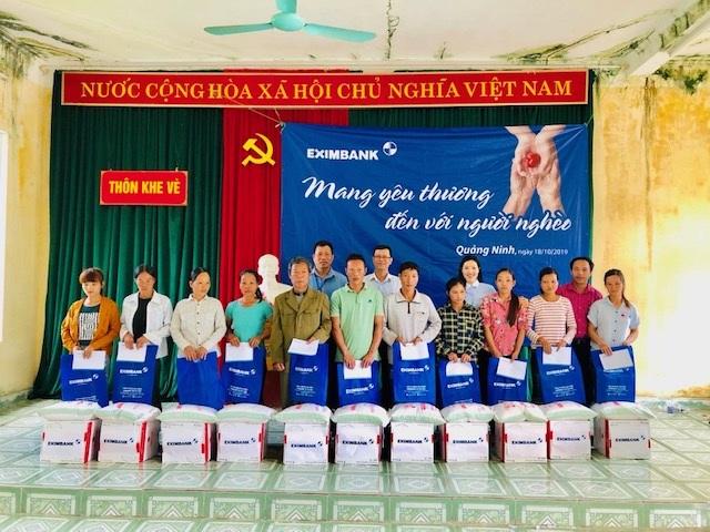 Eximbank mang yêu thương đến với người nghèo tại tỉnh Quảng Ninh - 1