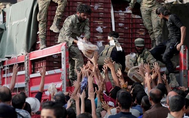 """Cuộc sống tại """"chảo lửa"""" Syria sau chiến dịch quân sự của Thổ Nhĩ Kỳ - 14"""