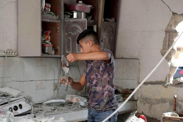 """Cuộc sống tại """"chảo lửa"""" Syria sau chiến dịch quân sự của Thổ Nhĩ Kỳ - 6"""