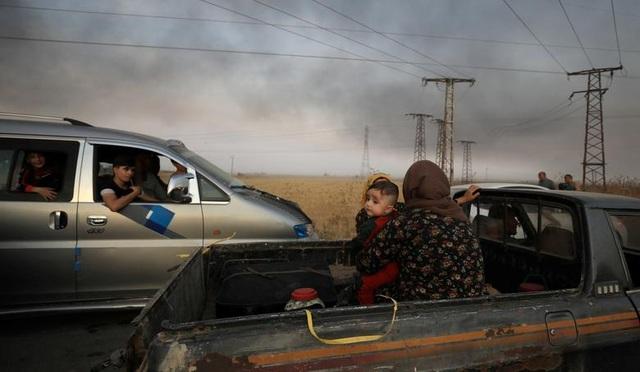 """Cuộc sống tại """"chảo lửa"""" Syria sau chiến dịch quân sự của Thổ Nhĩ Kỳ - 15"""