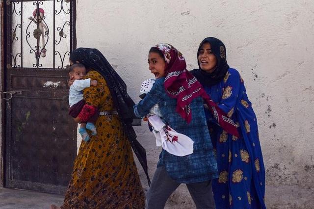 """Cuộc sống tại """"chảo lửa"""" Syria sau chiến dịch quân sự của Thổ Nhĩ Kỳ - 10"""