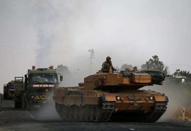"""Cuộc sống tại """"chảo lửa"""" Syria sau chiến dịch quân sự của Thổ Nhĩ Kỳ - 11"""