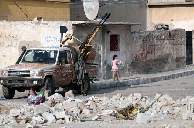 """Cuộc sống tại """"chảo lửa"""" Syria sau chiến dịch quân sự của Thổ Nhĩ Kỳ - 13"""