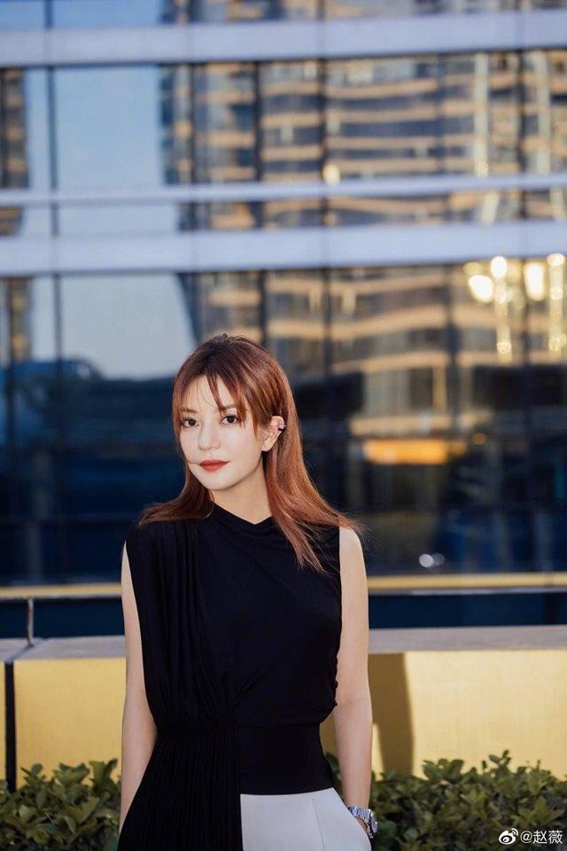 Triệu Vy đẹp đôi bên Huỳnh Hiểu Minh - 6