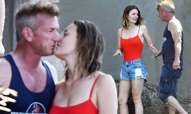 Nam diễn viên 59 tuổi Sean Penn đưa bạn gái kém 32 tuổi ra phố - 4