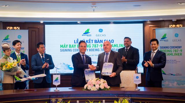 Bamboo Airways chính thức nhận bàn giao hai máy bay Boeing 787-9 Dreamliner - 1