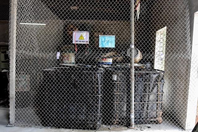 Cận cảnh kho chứa dầu thải của công ty gốm sứ Thanh Hà - 3