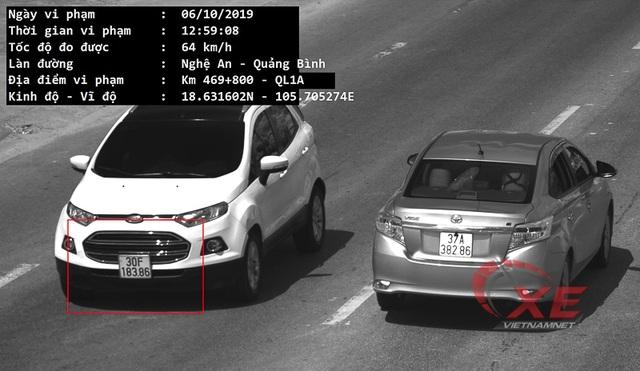 Chủ ô tô tá hỏa vì ngồi nhà Hà Nội vẫn bị bắn tốc độ ở Hà Tĩnh - 1