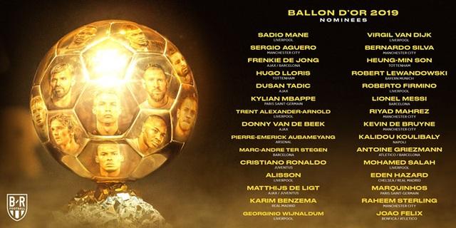 Messi, C.Ronaldo có tên ở danh sách đề cử Quả bóng vàng 2019 - 1
