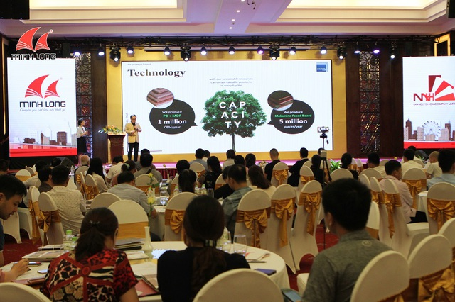 """Gỗ Minh Long giải đáp những vấn đề """"nóng"""" về gỗ công nghiệp trong hội thảo tại Nghệ An - 2"""