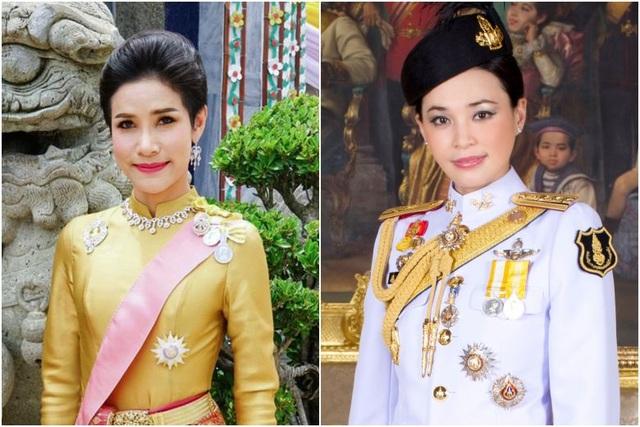 Đường vào hoàng tộc của hai người phụ nữ bên cạnh nhà vua Thái - 1