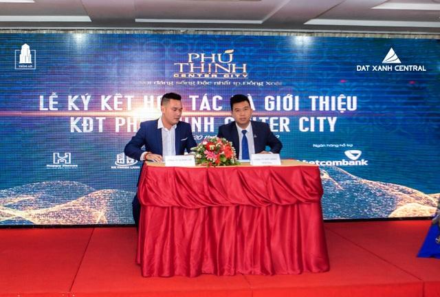 Đất Xanh Central công bố Khu đô thị cao cấp Phú Thịnh Center City - 1