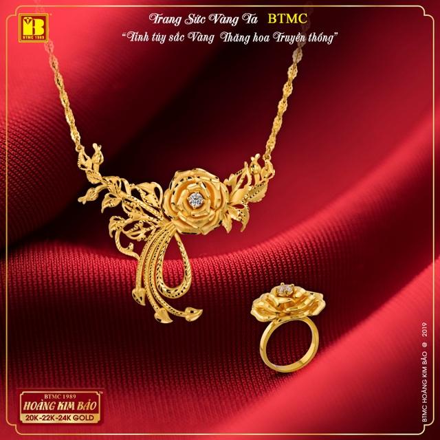 BTMC ra mắt BST trang sức vàng ta mới hiện đại siêu bền chắc, đẹp tinh xảo - 2