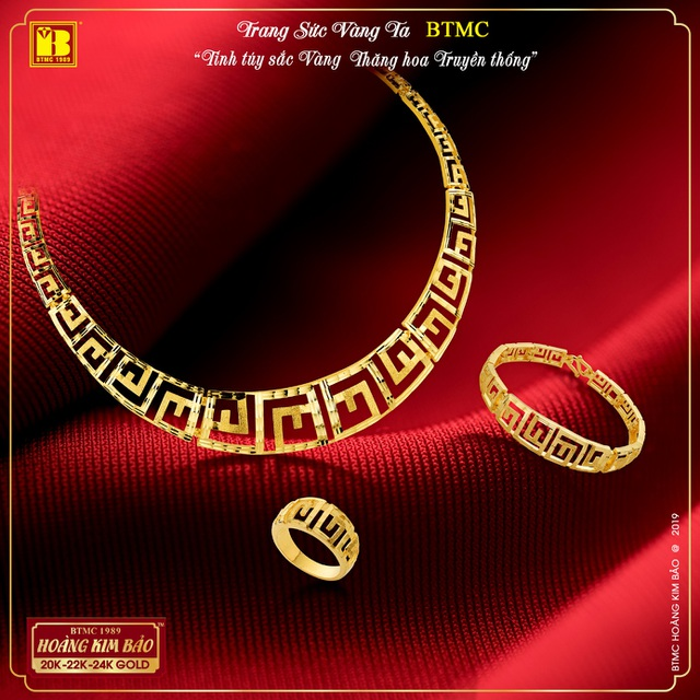 BTMC ra mắt BST trang sức vàng ta mới hiện đại siêu bền chắc, đẹp tinh xảo - 3