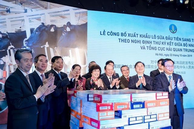 """TH Milk là doanh nghiệp Việt Nam đầu tiên được cấp mã số xuất khẩu sữa sang Trung Quốc:  """"Hoa thơm đã đơm trái ngọt"""" - 1"""