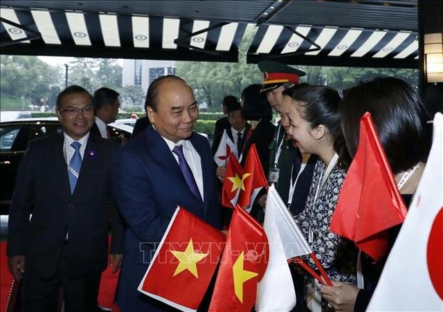 Thủ tướng đến Tokyo dự Lễ đăng quang của Nhà Vua Nhật Bản - 1