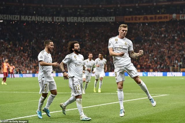 Galatasaray 0-1 Real Madrid: Kroos tỏa sáng - 2