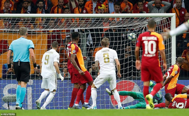 Galatasaray 0-1 Real Madrid: Kroos tỏa sáng - 5