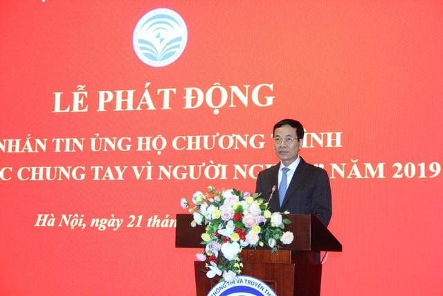 Bộ trưởng Bộ TTTT Nguyễn Mạnh Hùng kêu gọi Ngành ICT hành động vì người nghèo - 1