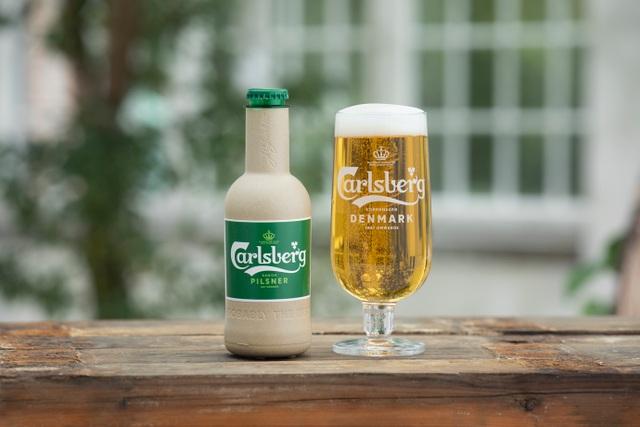 Carlsberg tiến gần hơn tới việc hiện thực hóa chai bia giấy đầu tiên trên thế giới - 1