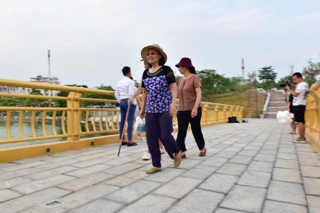 Toàn cảnh cây cầu đi bộ với kiến trúc tháp 7 tầng độc nhất vô nhị tại Phú Thọ - 7
